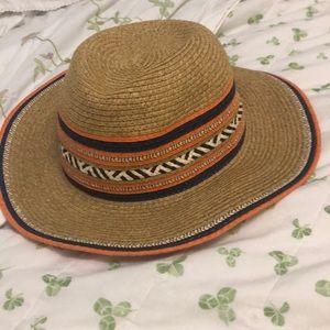 Never worn straw hat Angela & William